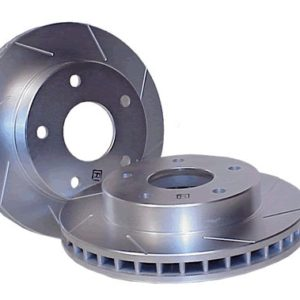 StopTech Slotted Rotors (95 Rear) Pair